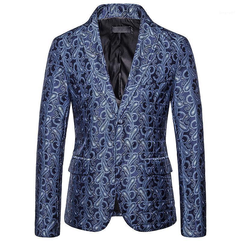 Casual Erkek Dijital Baskılı Breasted Erkek Tasarımcı Blazers ile Moda Erkek Outerwears Suits