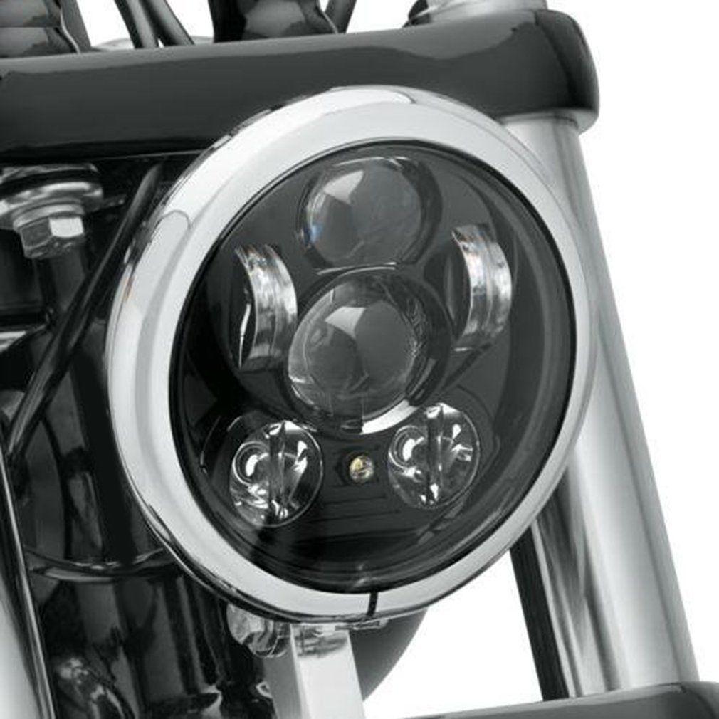 """5,75 """"LED faro del motociclo ha condotto la lampadina del faro del proiettore per il motociclo ha condotto il faro di 5.75inch"""