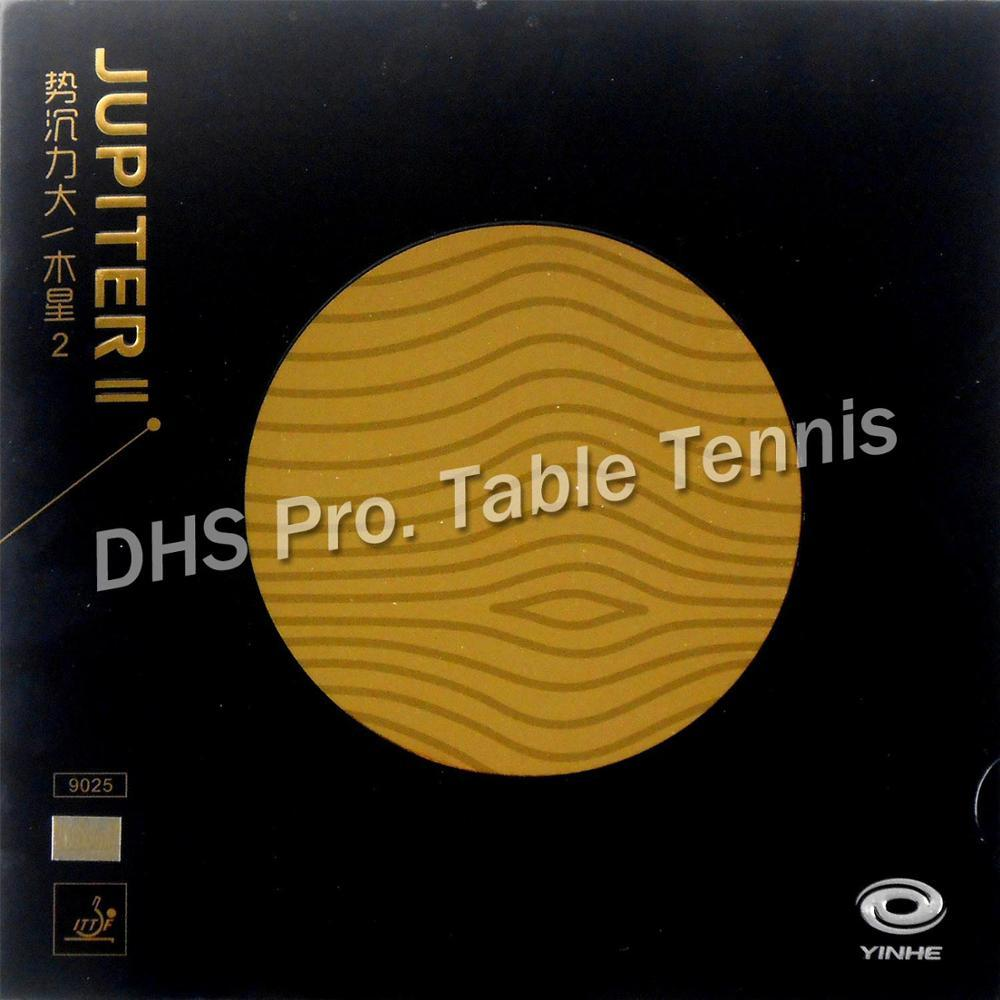 Sports & Entertainment Galaxy Yinhe JUPITER II TACKY Pips-in Table Tennis Rubber with Orange Sponge Table Tennis Rackets