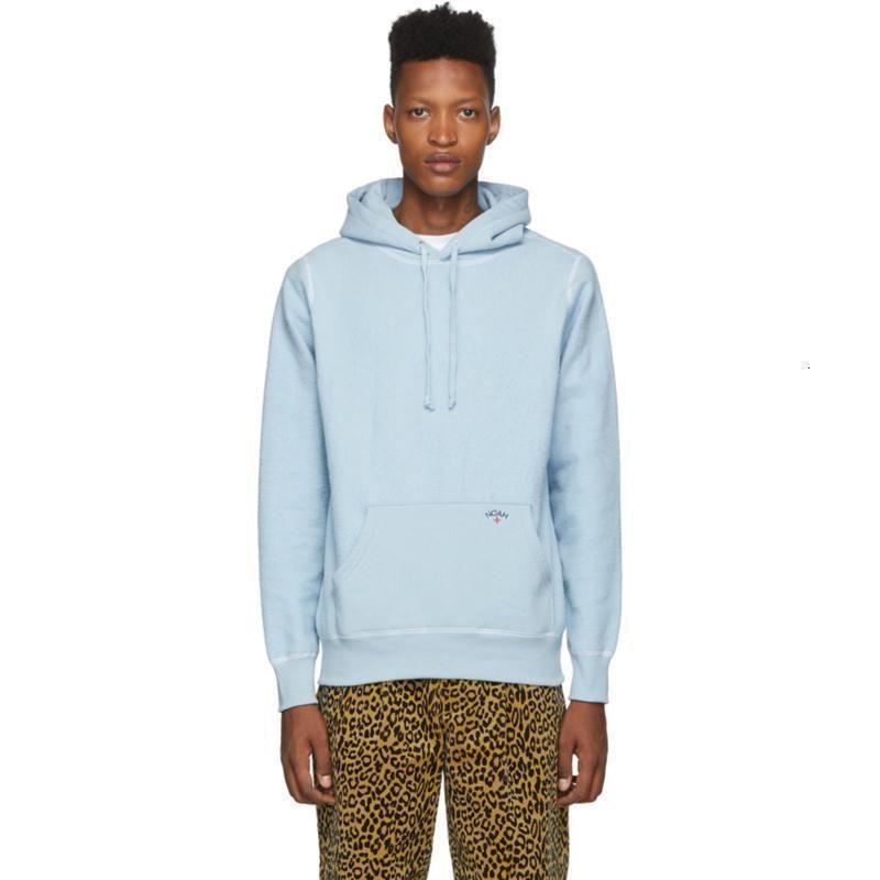 19FW Noah Logo Solid Color Hoodies Men Women Street Pullover Sweater Autumn Winter Hooded Sweatshirt Casual Outwear Hoodies HFYMWY287