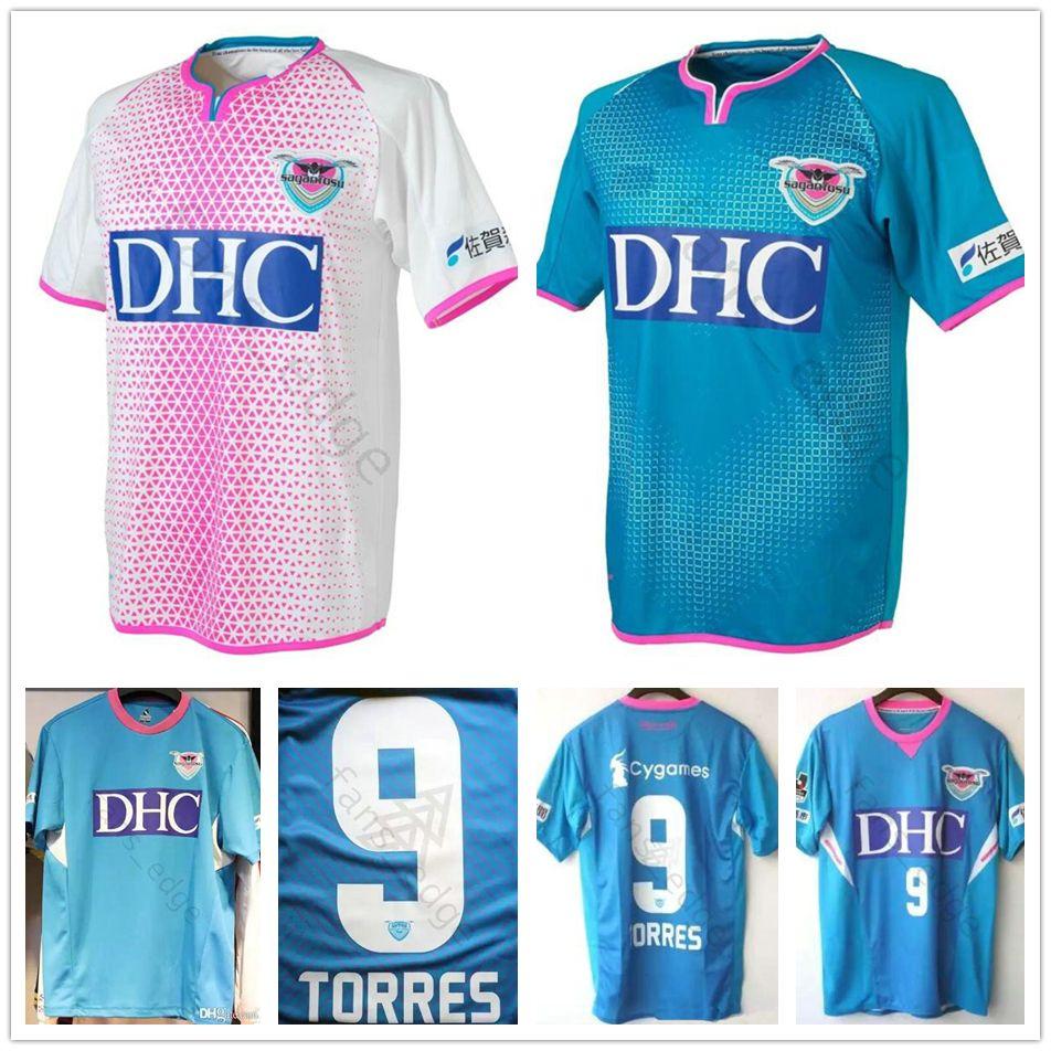 Acquista 2019 2020 Maglia Da Calcio Sagan Tosu 9 Fernando Torres Takahashi Riki Harakawa Kyosuke Custom Home Away 19 20 Maglia Da Calcio Japan J ...