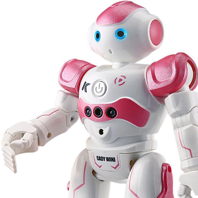 Rc Robot Programming Inteligente Remoto Presente de aniversário Controle Toy Biped Humanoid Para Crianças Crianças Robot Dog Pet T190622