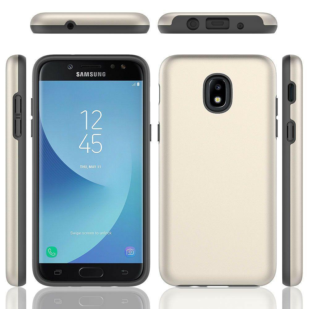 Двухслойный Hybrid Тонкий Доспех противоударный чехол для Samsung Galaxy A10E A20 A30 A50 J3 Star J7 2018 Hard Cover Skin