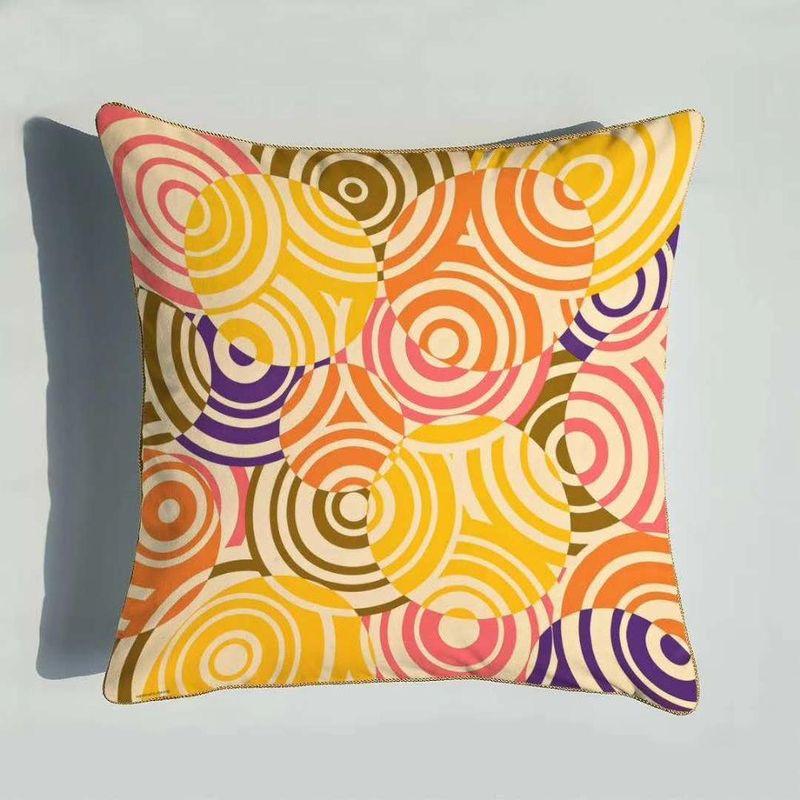 Европейский свадебный подарок женщины бросают подушку новый дизайн супер мягкий бархат наволочка наволочка домашний диван кровать декоративные