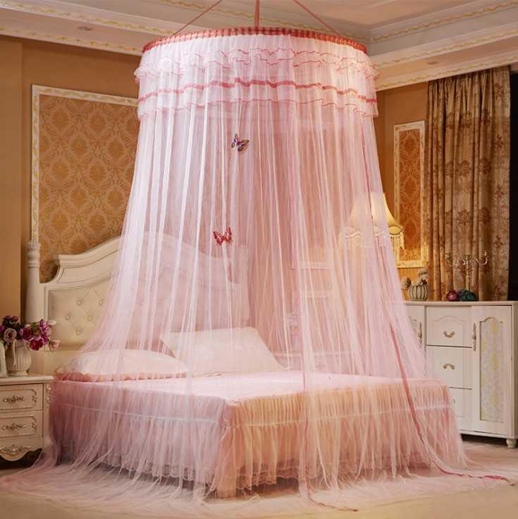 Mylb Large Bed Gauze Sheer Mosquito Curtain Home Bedroom Decoration Mosquito Nets Romantic Hanging Bed Valance Mosquito Screen Mosquito Net Tent From Dalihua 19 88 Dhgate Com