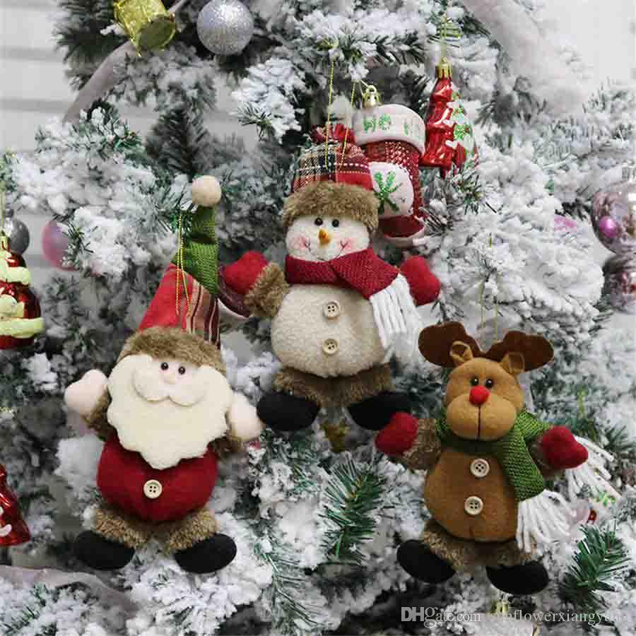 Snowman Door Hanging Ornaments Party Decor Decor For Home Holiday Santa Pendant