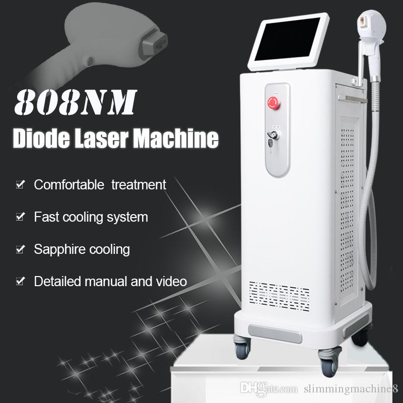 808nm Machine Permanent Hair Removal Ce Approved Diode Laser