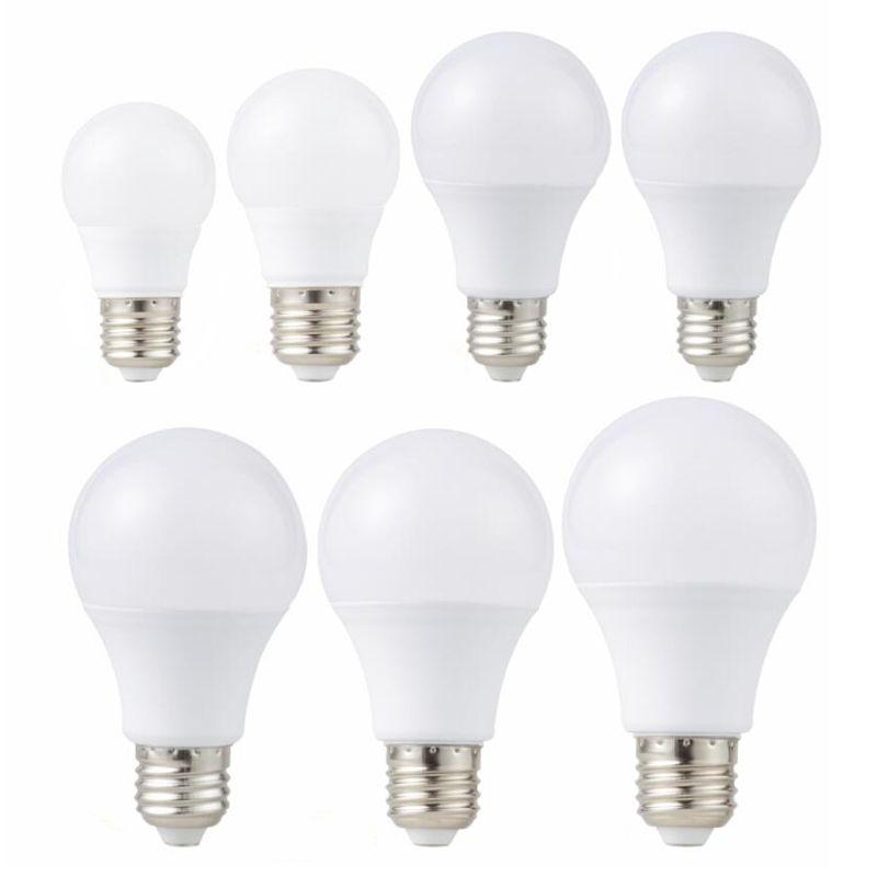 E27 LED-Licht 85-265V LED-Birne 3W 6W 9W 12W 15W 18W 20W LAMPADA LED Glühbirnen Tisch Scheinwerfer Kalt / Warmweiß