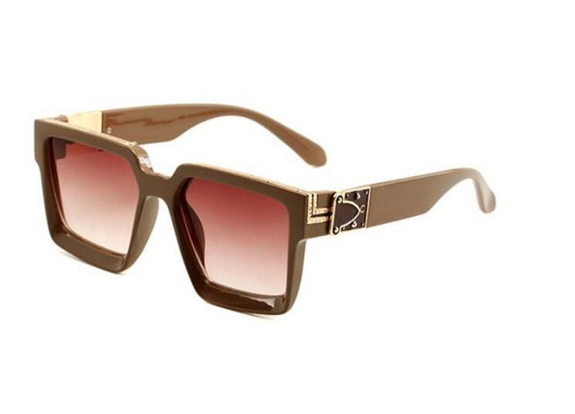 0993 Солнцезащитные очки Pilot Женщины Brand Designer Men Luxury Зеркало Sunglass V Негабаритные Clear Женский +2018 ВС стекла Eyeglass Женщина Flat Top