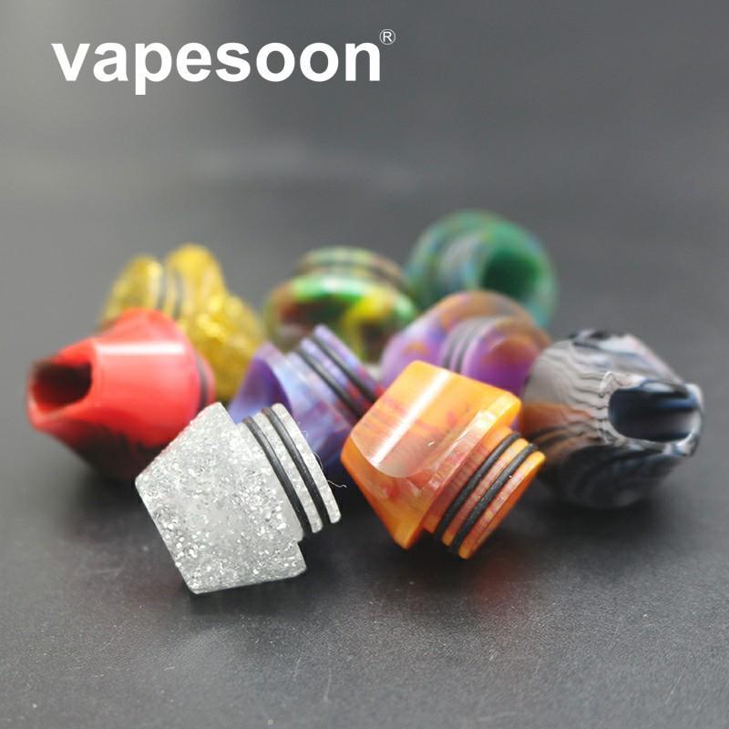 VapeSoon Nouvelle Conception 810 Résine Drip Tip Costume Pour TFV8 TFV12 Prince Ijust 3 etc. Livraison Rapide