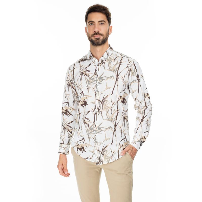 Padrão Buratti Slim Fit camisa masculina CAMISA CF20S111761