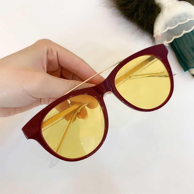 Toptan bayan güneş gözlüğü ya da optik gözlük bayanlar tasarımcı Retro güneş gözlüğü 0559S havacı çerçeve basit tarzı uv 400 açık gözlük