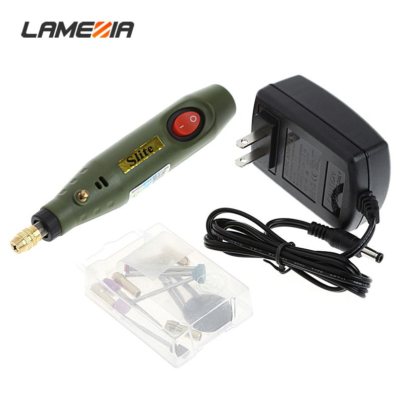 LAMEZIA 220V High Quality Micro Electric Drill Engraving Machine Power Tools Group Mini Mill