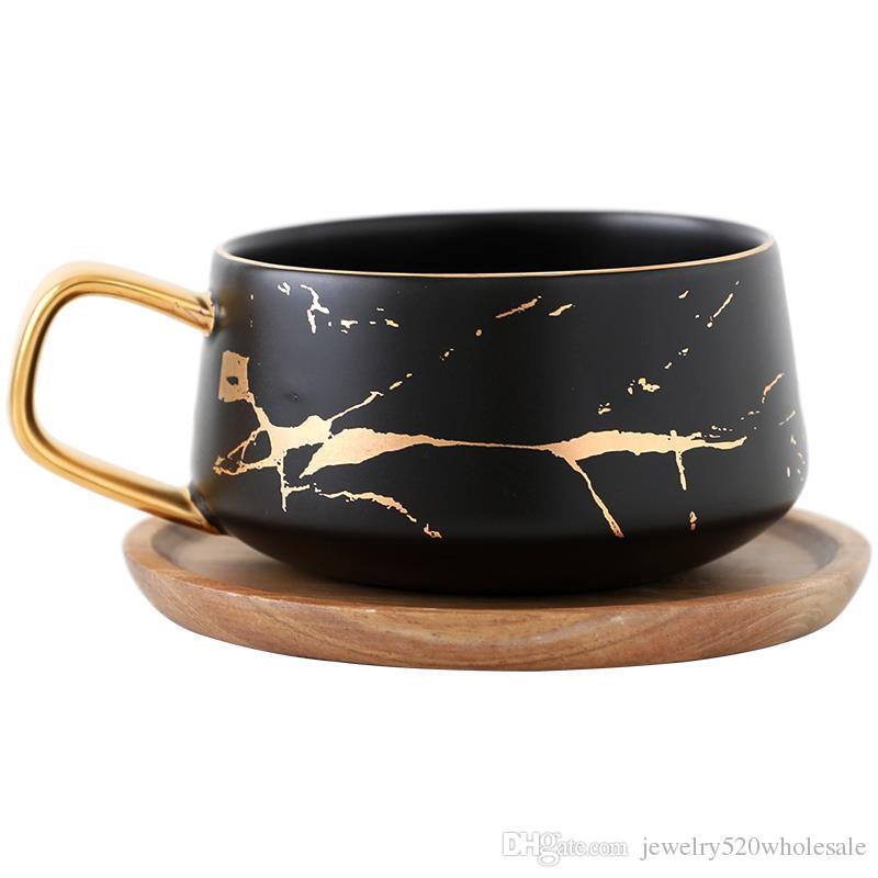 Seramik Bardak Tabağı İtalyan Kahve ikindi çayı Fincan çanak ikindi çayı ile Fincan