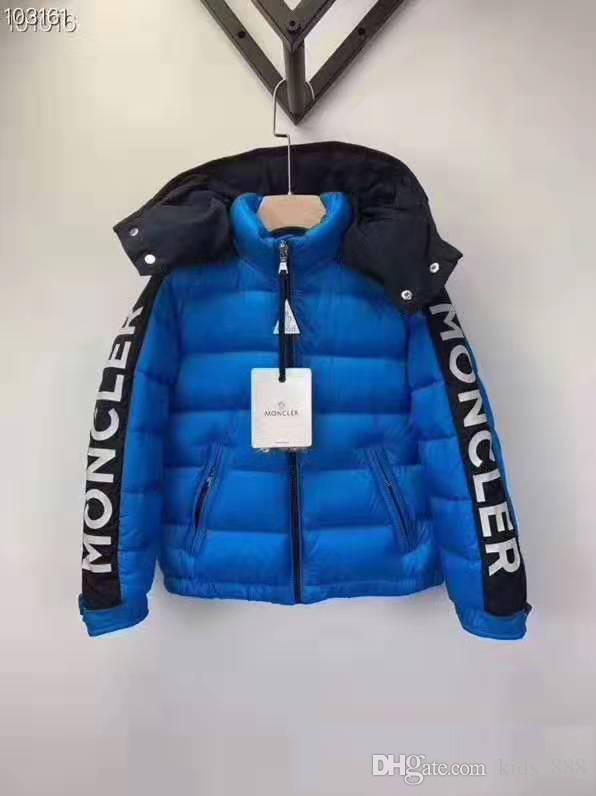 2020 럭셔리 뜨거운 판매 새로운 도착 브랜드 소년 겨울 다운 재킷 화이트 다운 파카 90 % 다운 3T-10T
