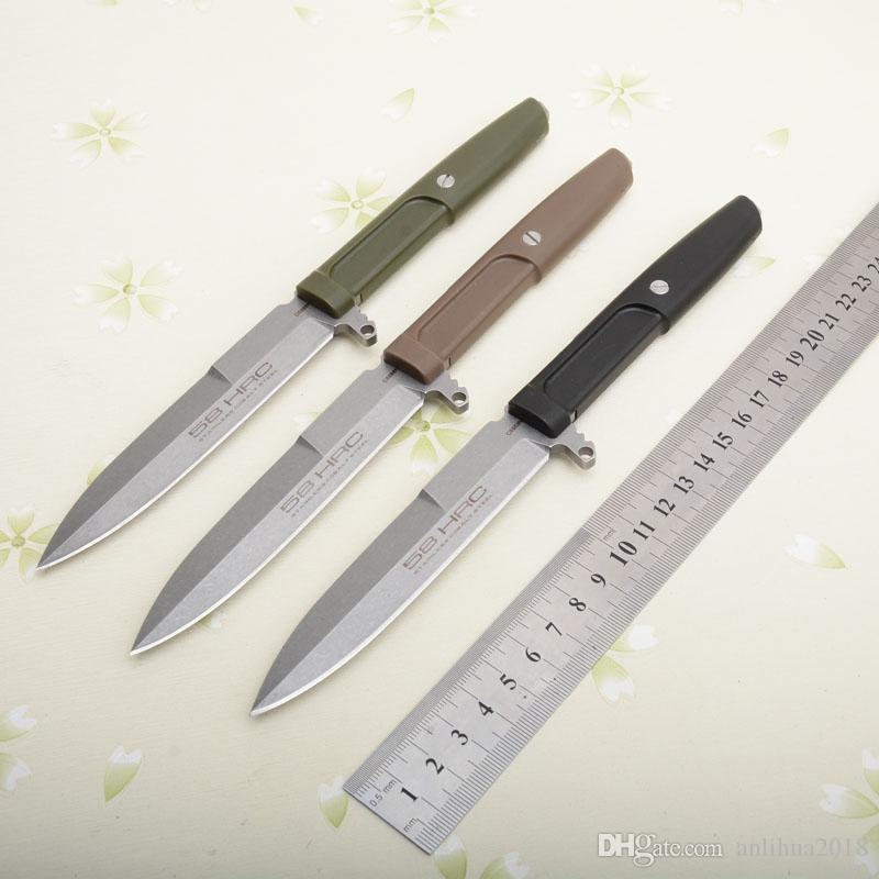 Extrema Ratio Fixed Blade Knife D2 Sharp Durable Outdoor Camping Hunting Survival Tactical Portable Straight Knives EDC Tool Carrying Jacket