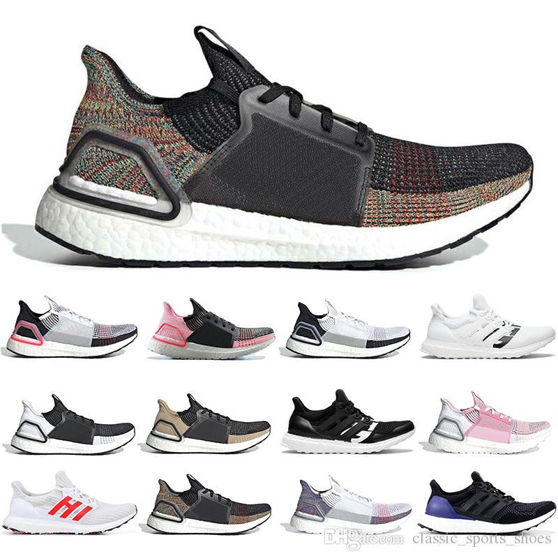 Adidas 2019 Zapatillas Deportivas Baratas Ultra Boost Ultraboost 19 Para  Hombre Mujer Oreo REFRACT True Pink Para Hombre Entrenador Zapatillas ...