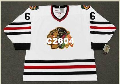 sale retailer e3208 830a6 2019 Mens #6 LOU ANGOTTI Chicago Blackhawks 1969 CCM Vintage Retro Hockey  Jersey Or Custom Any Name Or Number Retro Jersey From C2604, &Price; | ...