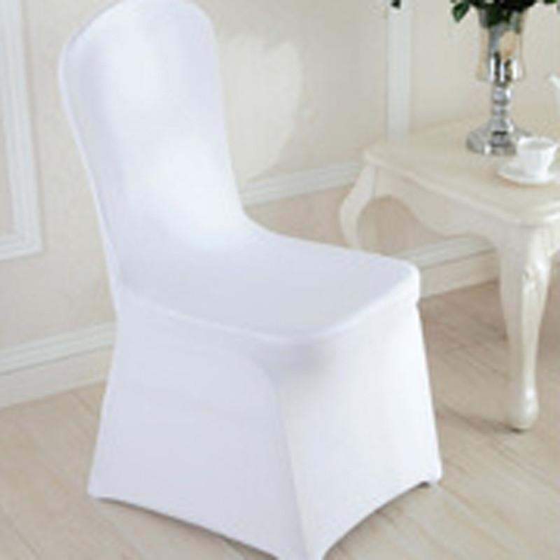 Tremendous Wedding Chair Covers White Stretch Universal Polyester Spandex Chair Cover For Weddings Banquet Restaurant Seat Slipcovers For Sofas Dining Chair Alphanode Cool Chair Designs And Ideas Alphanodeonline