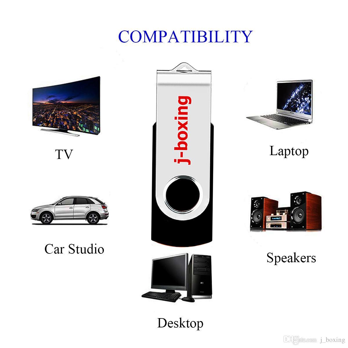 LOT 100 adet 64 MB USB 2.0 Flash Sürücüler Döner Kalem Sürücüler Metal Dönen Bellek PC Dizüstü Tablet Macbook Renkli için Başparmak Depolama ...
