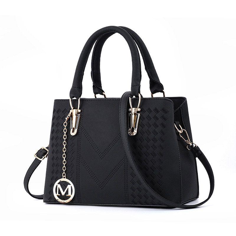 Borse per le donne signore grande progettista del cuoio Bucket Bag la borsa di modo Mk PU Marche Big Capacità Top-maniglia Borse