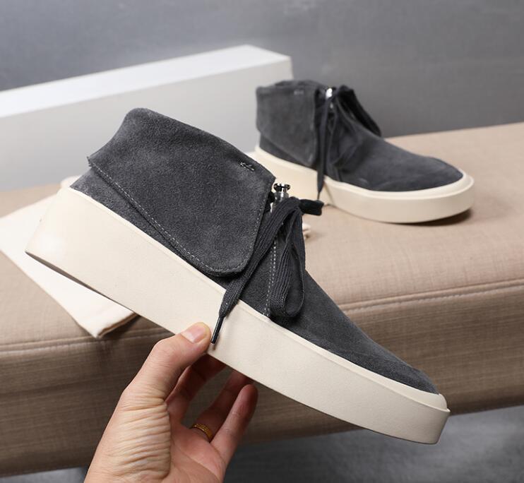 Sıcak 2020 yeni SİS Korku Tanrı'nın Boots Moda Tasarımcısı Ayakkabı SİS Açık Çizme Yüksek üst düşük üst dermis Sneakers boyutu 38-47