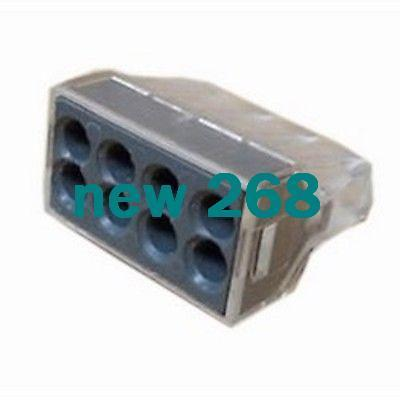 Freeshipping WAGO 773-108 eight pole push fit connector x100