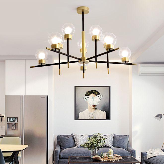 New Glass Ball Pendant Lamps Modern Hanging Ceiling Lamp Luxury Pendant Lights For Living Room Bedroom Dinning Room Kitchen Island Drum Pendant Lighting Plug In Pendant Light From Lamloon 246 03 Dhgate Com
