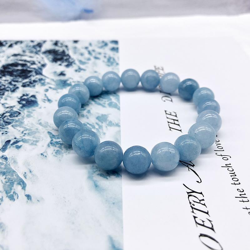 Sale~ Dharma Aqua Blue Quartzite Buddha Anklet