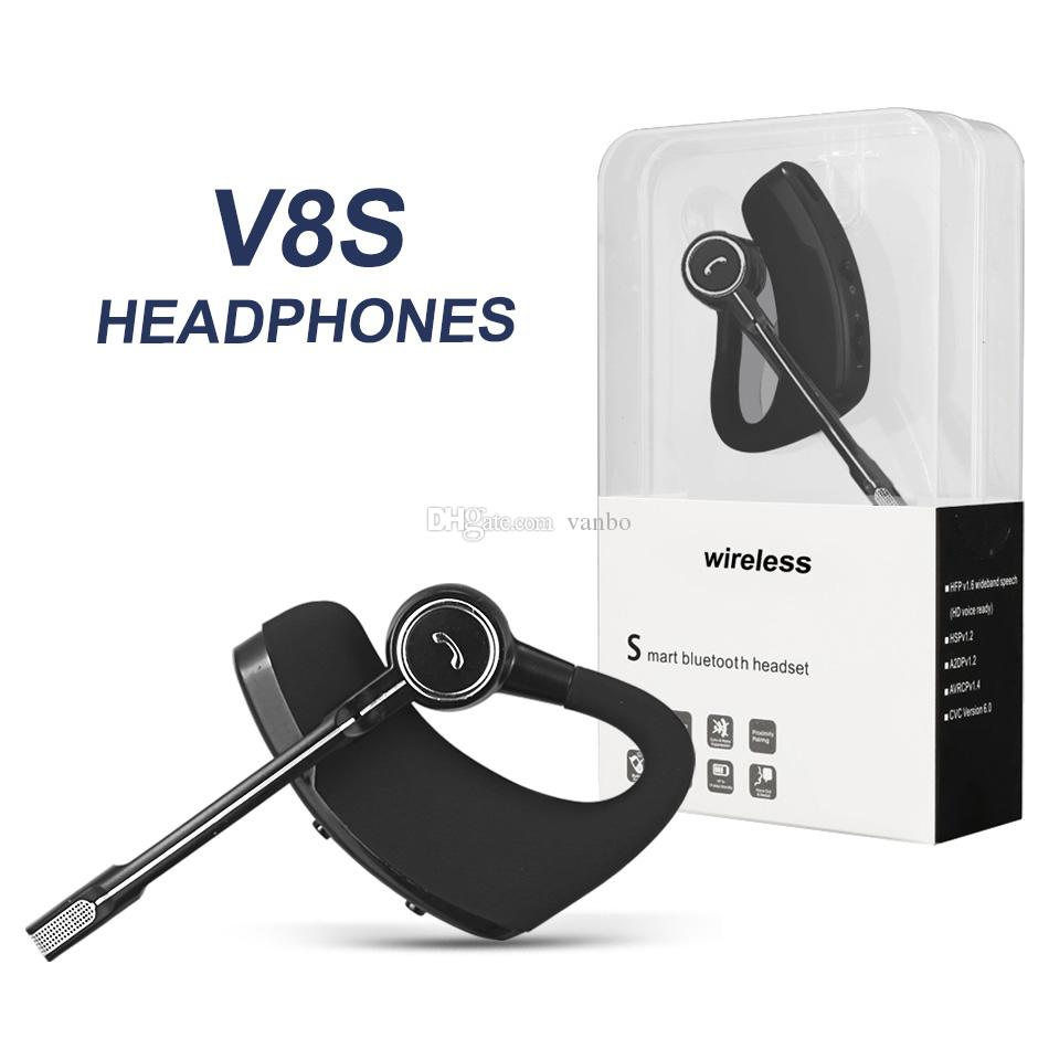 V8 V8s Bluetooth Headphones Wireless Headset Handsfree Bluetooth Earphones V4 1 Legend Stereo Wireless Earbuds For Samsung Huawei In Package Wireless Headset Cell Phone Headset For Mobile Phones From Vanbo 5 33 Dhgate Com