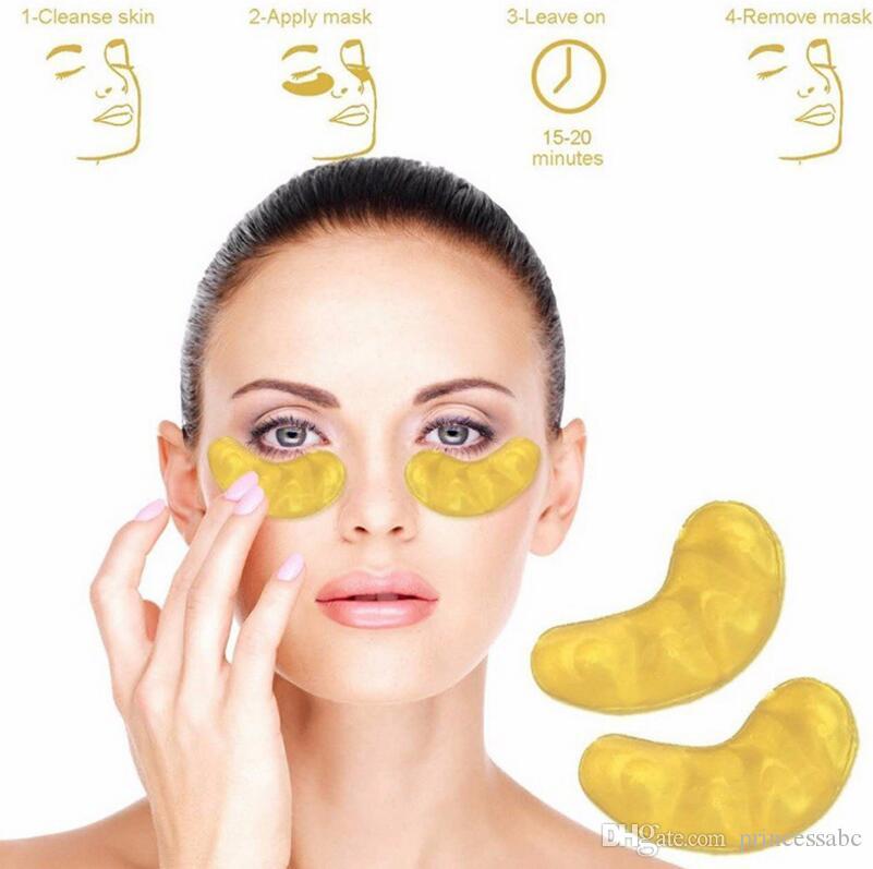 قناع الكولاجين ROSOTENA الذهب العين لإزالة الهالات السوداء وأكياس لتشديد والرقع Sothing العين
