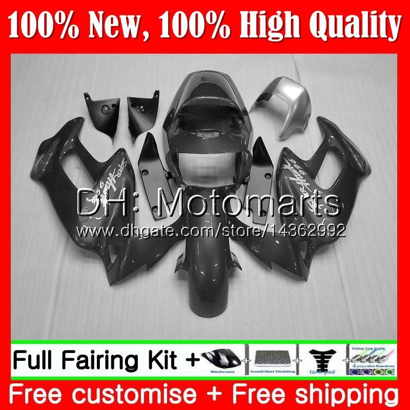 Cuerpo para HONDA SuperHawk VTR1000F 97 02 03 04 05 64MT12 VTR1000 F VTR 1000 F 1000F 1997 2002 2003 2004 2005 Carcasa de carenado gris plateado