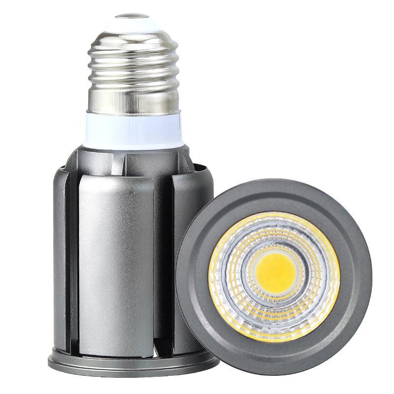 E27 GU10 MR16 LEDCOB лампа 5W 7W 9W 12W прожектор