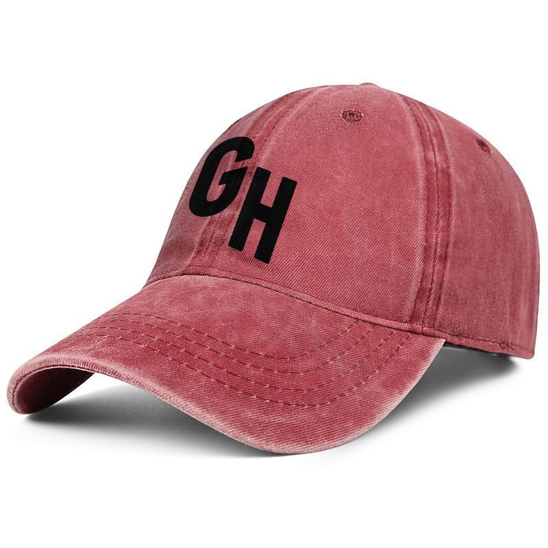 Elegante GrubHub unisex denim fresco berretto da baseball dei cappelli personalizzati Logo Alimentari con consegna a domicilio nero felice mangiare Flash oro Vintage vecchia Bianco