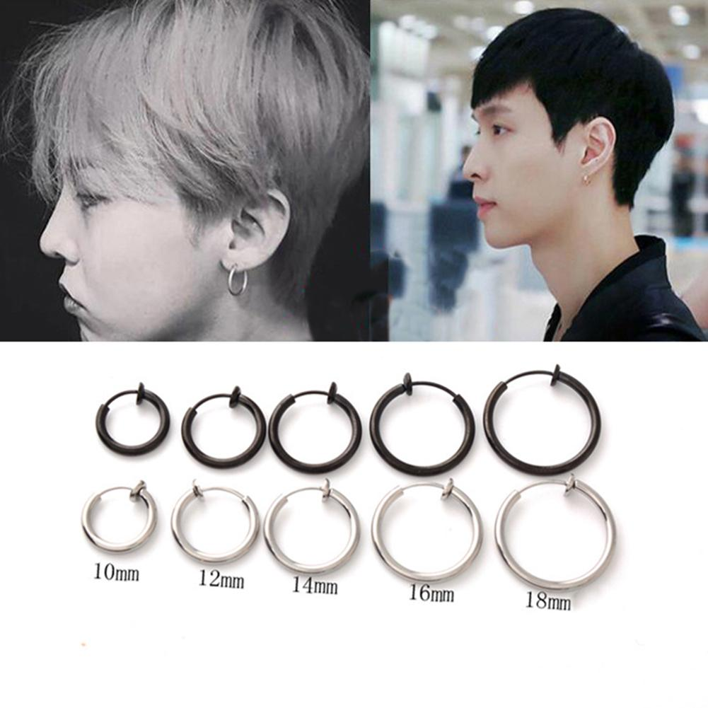 2020 Fashion Fake Nose Ring Goth Punk Lip Ear Nose Clip On