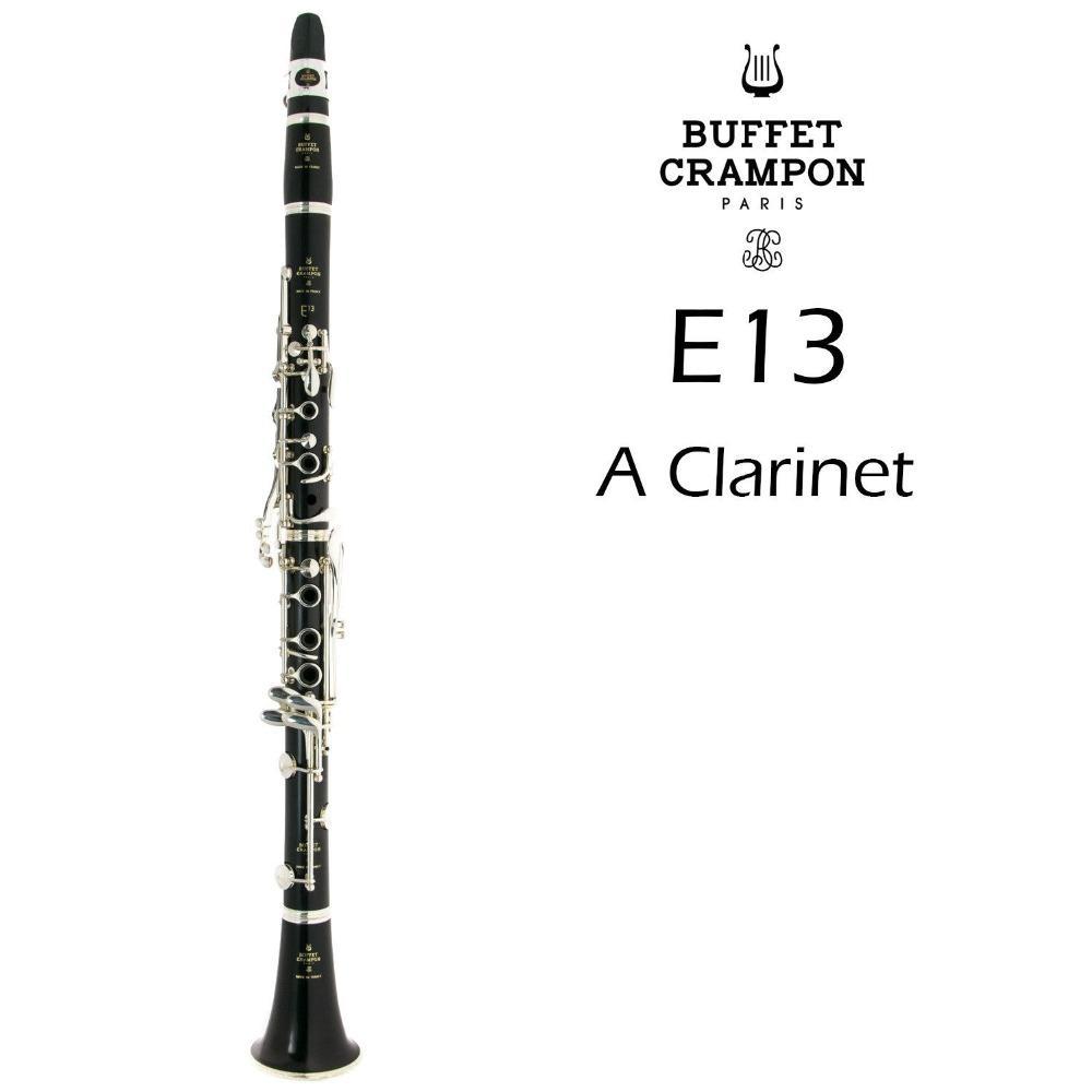 Buffet Crampon E13 A Clarinette Tune Nouvelle Arrivée Marque Instrument de Musique Bois / Bakélite Corps Clarinette Avec Embouchure De Cas