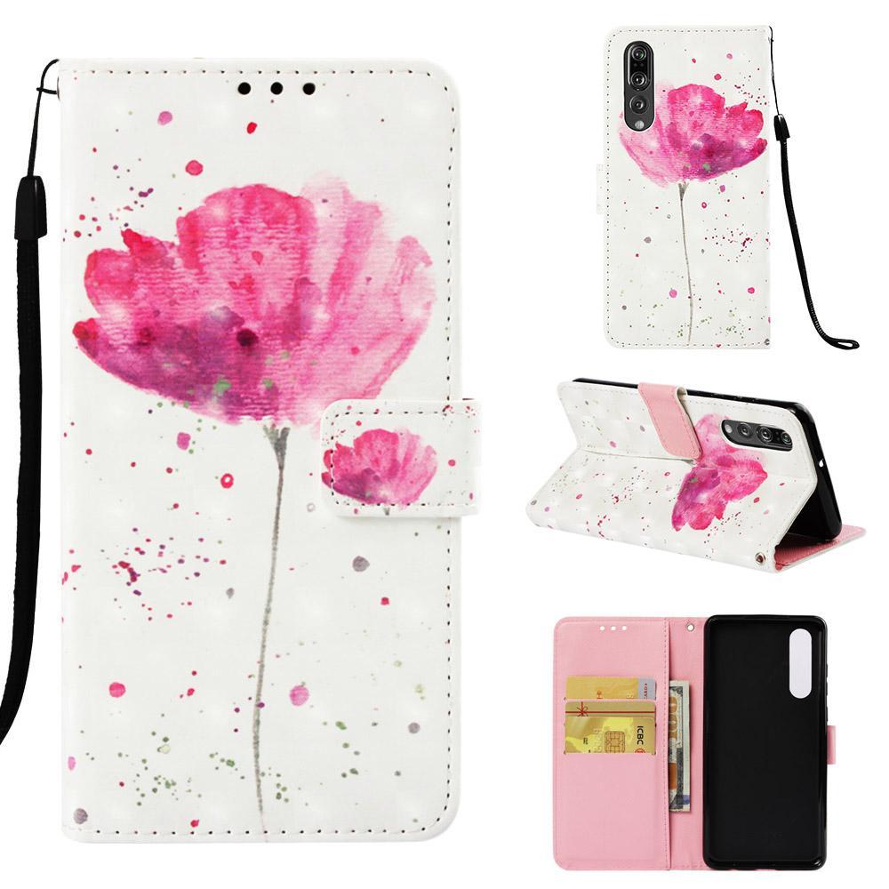 Luxe Case Pour Huawei P30 P20 Pro Support Magetic flip portefeuille en cuir cas pour l'honneur Note 10 Lecture 8A 9X 8X 8X Max
