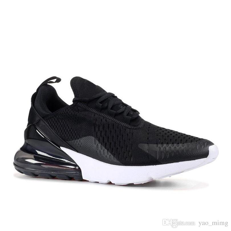 Acheter 2019 Top Women Nike Air Max Airmax AIRMAX 270 27C Teal Chaussures De Plein Air 2 Étoiles Flair Triple Pink Blanc Bleu 27C Trainer Sports Shoe