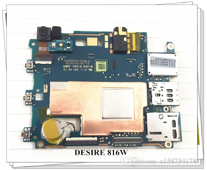 100% Working ~ HTC Wunsch 816 816w verdoppeln sim Mainboard-Logik-Brett Ursprüngliches Motherboard geben Verschiffen frei