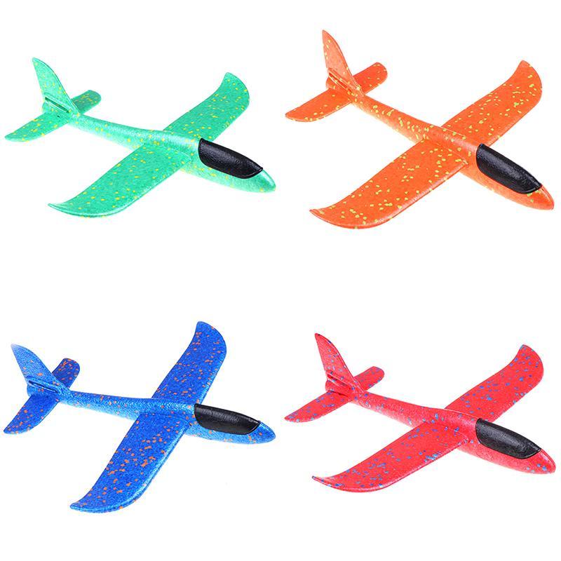37см EPP пены Рука Бросьте Самолет Открытый Launch планер самолета Детская игрушка в подарок Интересные игрушки