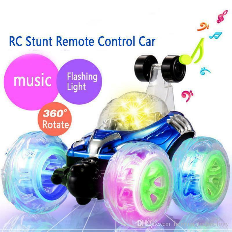 Подробная информация о RC Пульт дистанционного управления 360 Twister Stunt Автомобильный мигающий свет Dasher Автомобиль Детские игрушки