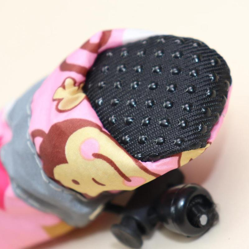 4pcs/Set Winter Anti-slip Rain Snow Boots Footwear With Fleece Liner Waterproof Rain Boots Pet Shoes Chihuahua Yorkshire