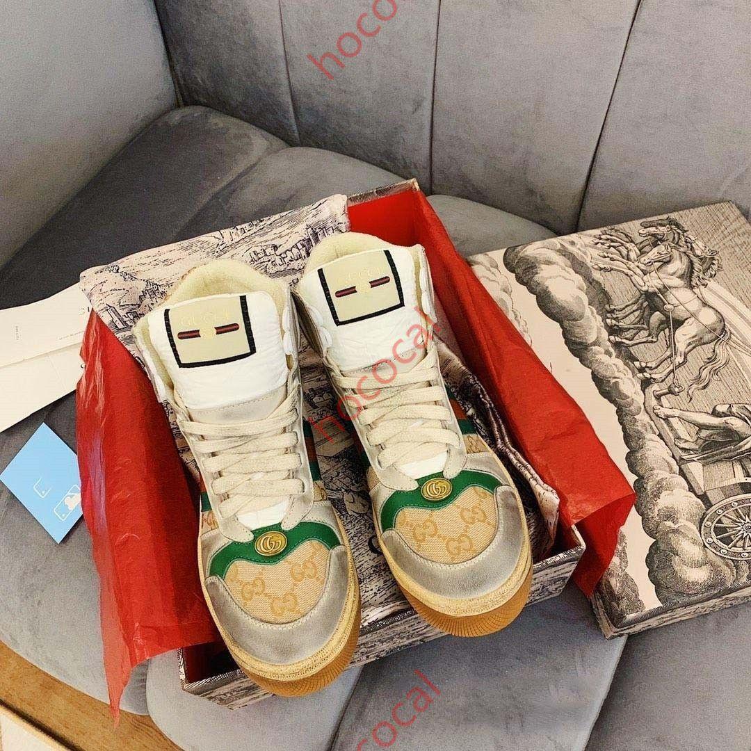 Gucci Tasche 2020 hococal Yeni renk Günlük Spor Ayakkabı, Erkekler Bayanlar, Yürüyüş, Açık Koşu Ayakkabı Koşu Ayakkabıları