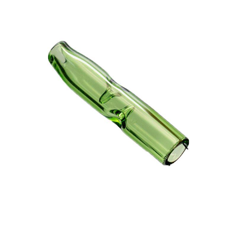 Kuru ot Tütün Kağıtlar ile Tütün Sigara Tutucu Kalın Pyrex Renkli Cam for Smoking Renkli Mini Cam Filtre İpuçları