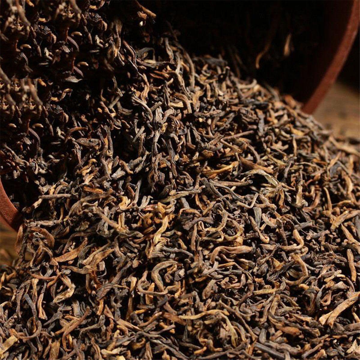 200g de Yunnan granel maduro de Puer Té natural orgánico de Puerh Negro árbol viejo Cocido Puer sana verde comida preferida