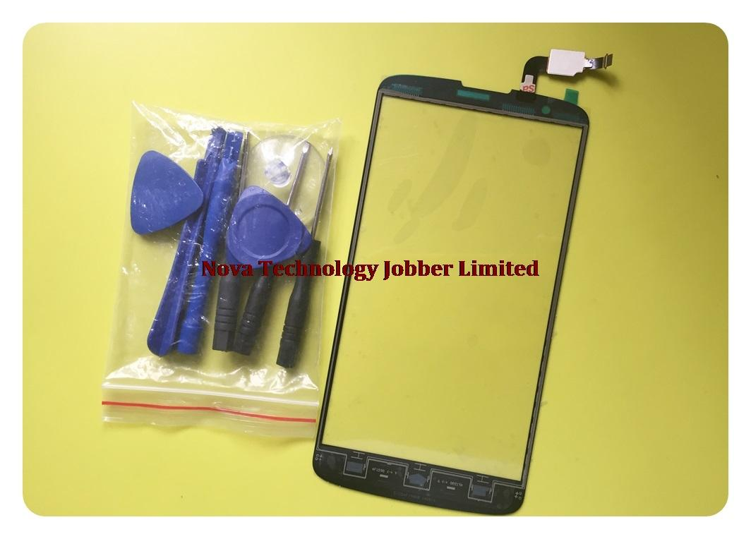 wholesale Black top i 928 Sensor Phone Replacement Parts For Philips i928 Touch Screen Digitizer Glass Panel touchpad