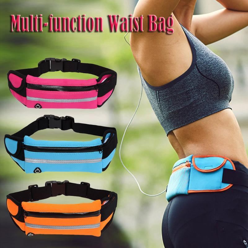 Waist Bag Belt Bag Running Waist Sports Portable Gym Hold Water Cycling Phone Waterproof Women running belt