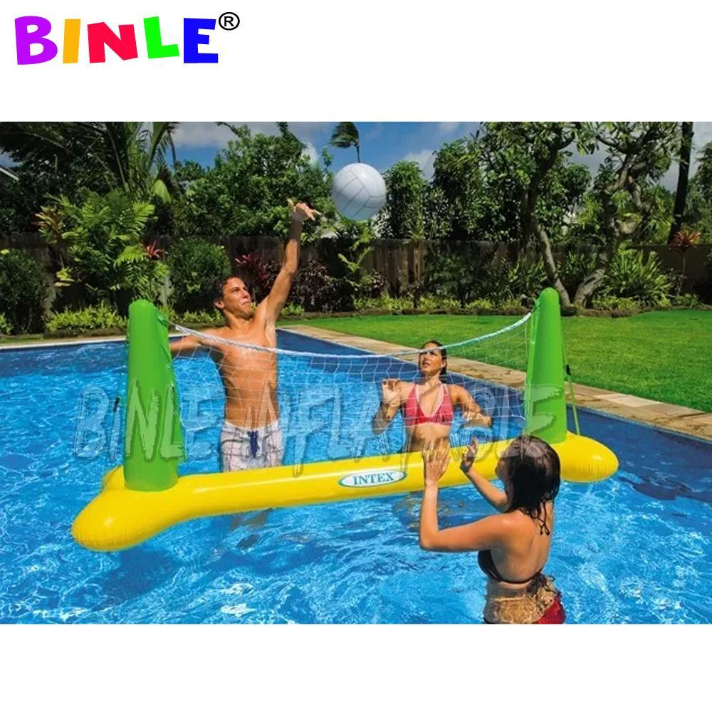 دائم اللعب PVC المياه العائمة المحكمة الكرة الطائرة نفخ شاطئ بركة سباحة لعبة الكرة الطائرة لعبة عائلة المرح للأطفال اللعب
