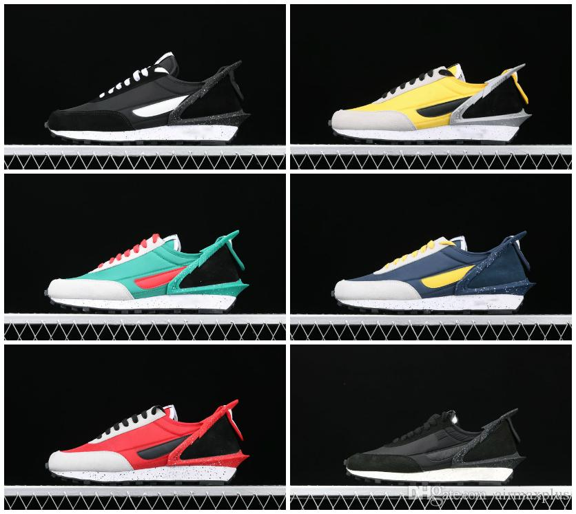 2020 NUOVO UNDERCOVER x Waffle Racer Mens Running Shoes stilista Chaussures Sacai LVD Waffle Daybreak Bianco Tn Trippa Sport SNEAKERS