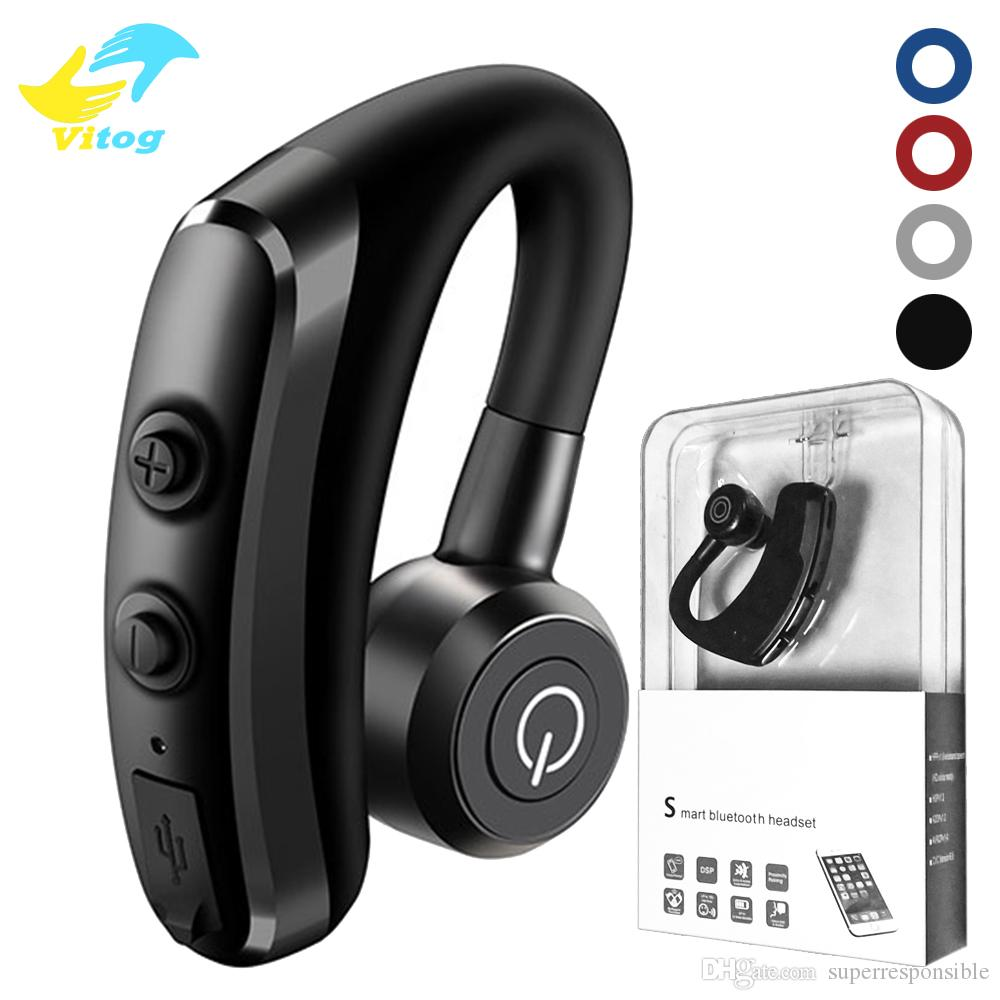 Vitog High Quality K5 Wireless Bluetooth Headphones Csr 4 1 Single Ear Business Stereo Wireless Earphones Ear Hook Earbuds Headset Wholesale Earbuds Cell Phone Bluetooth Headset From Superresponsible 5 53 Dhgate Com